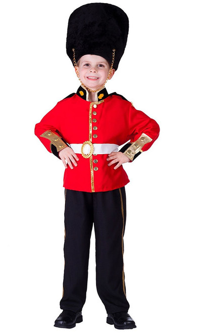 Deluxe Royal Guard Boy Costume