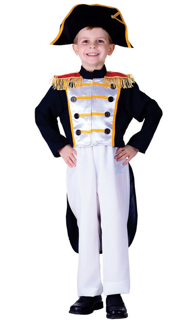 Colonial General Boy Costume