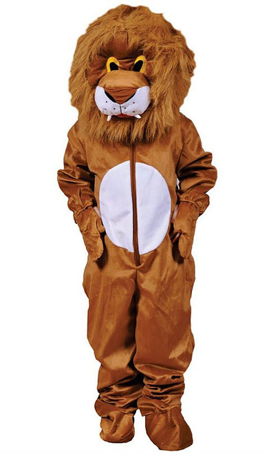 Plush Lion Adult Costume