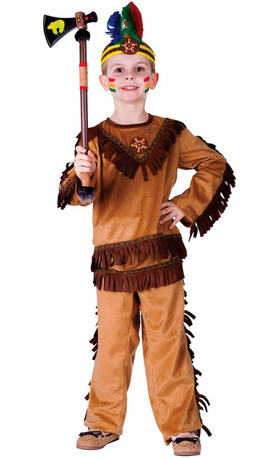 Indian Warrior Boy Costume