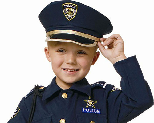 Child Police Hat