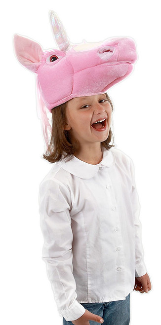 Unicorn Pink Puppet Hat Child