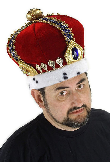 Royal King Crown Headpiece
