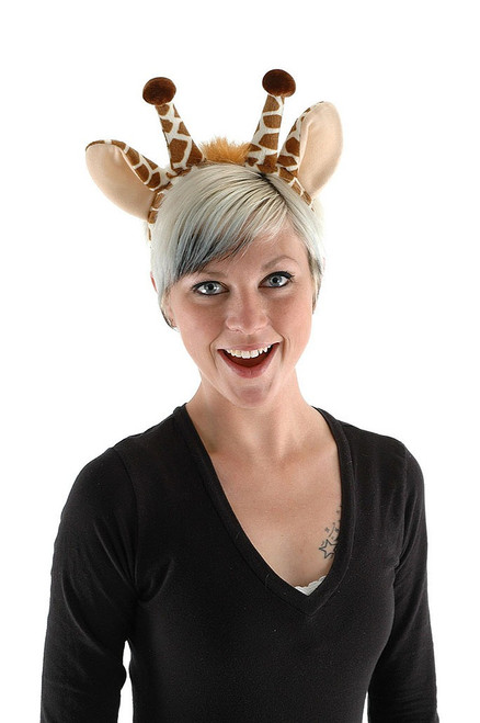 Giraffe Ears & Tail Adult Kit
