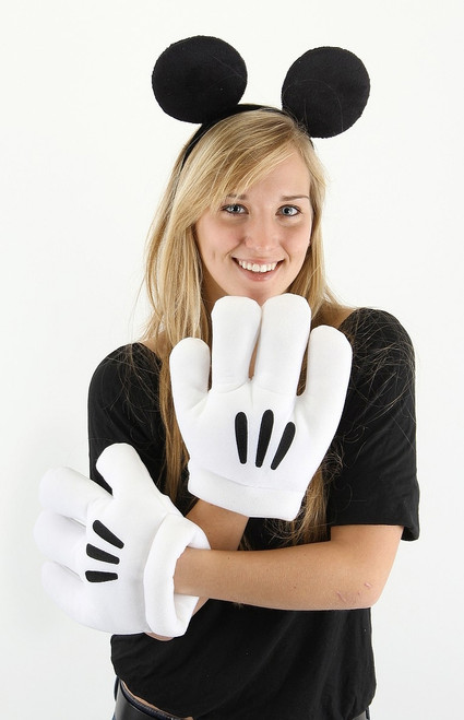 Mickey Mouse Ears and Gloves