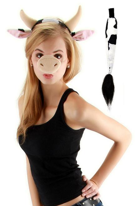 Adult Cow Set Halloween