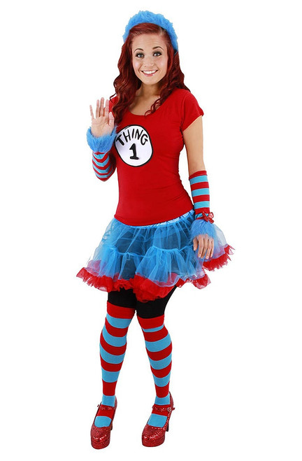 Thing 1 & 2 Striped Socks