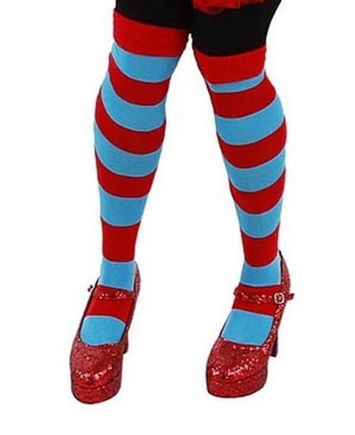 Striped Socks Thing 1 & 2