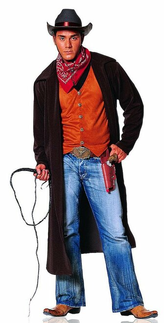 Gun Slinger Man Costume