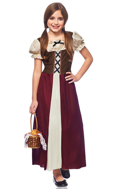 Peasant Girl child costume