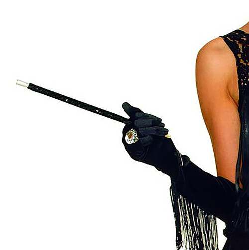 Black Sequin Cigarette Holder