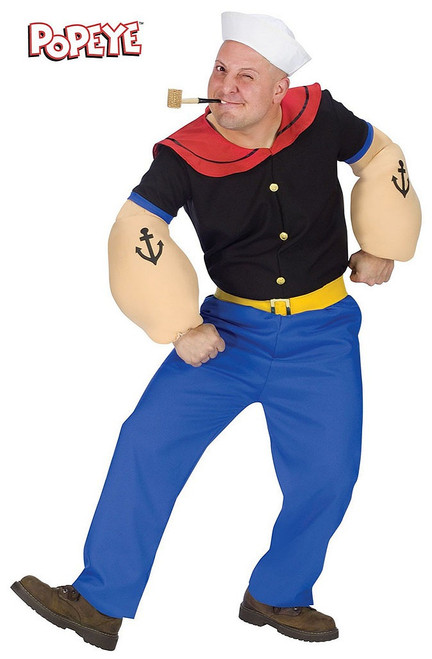 Popeye the Sailor Adult Costume