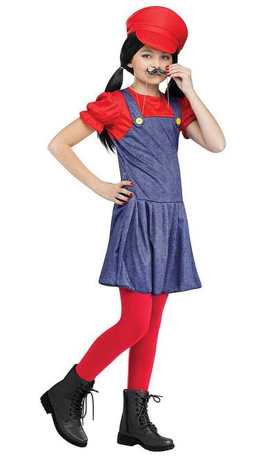 Pretty Plumber Mario Costume