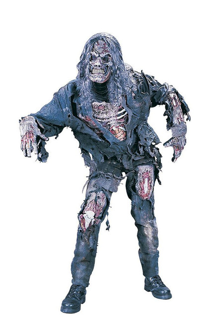 Complete Zombie Men Costume