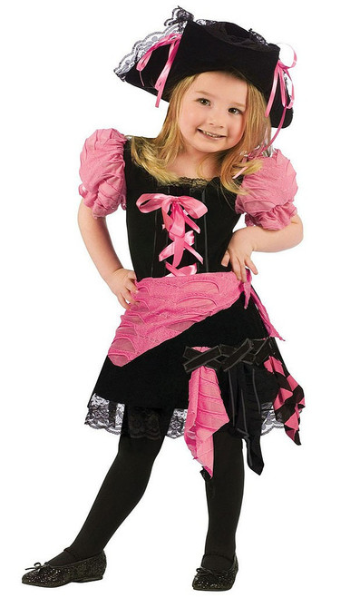 Pink Punk Pirate Toddler