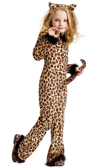 Pretty Leopard Child Costume