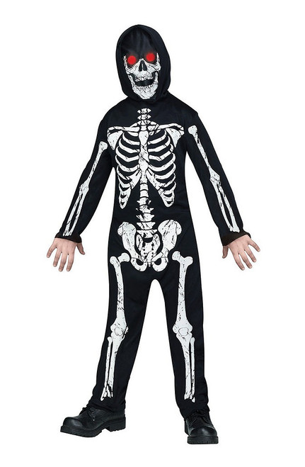 Child Skeleton Phantom Costume