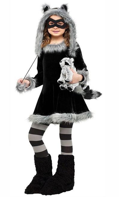 Sweet Raccoon Child Costume