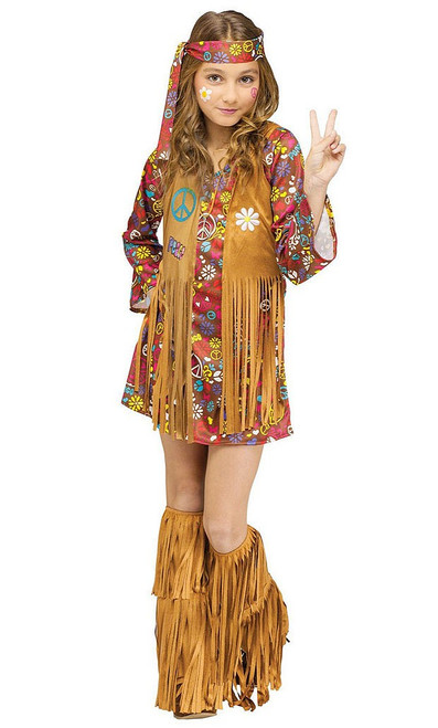 Peace & Love 60s Girl Costume