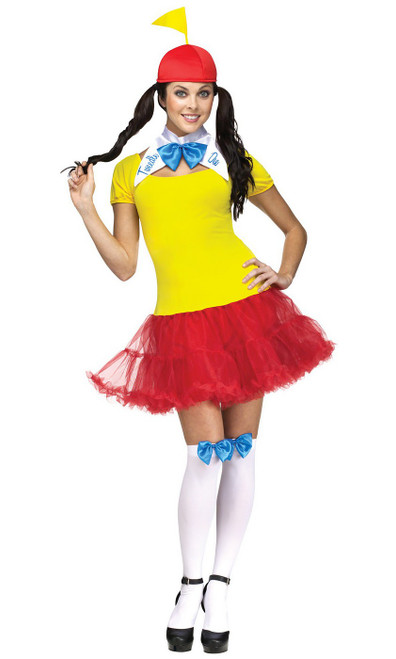 Tweedle Dee Dum Womens Costume
