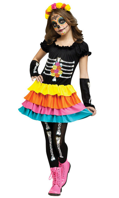 Day of the Dead Costume Child