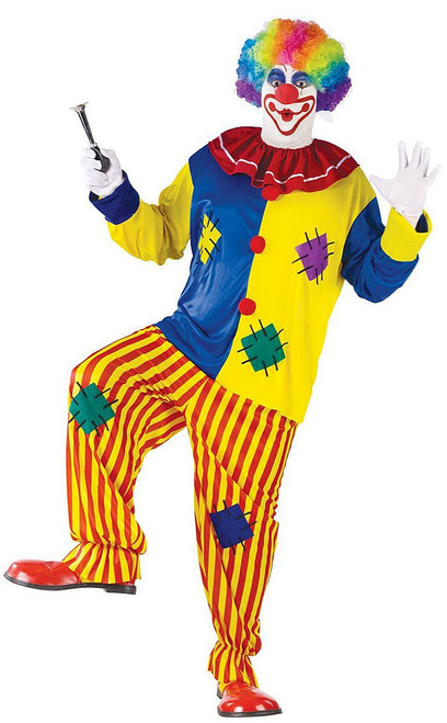 Big Top Clown Plus Costume