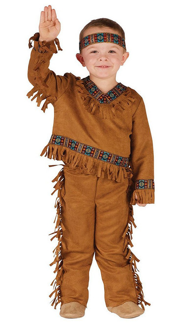 Toddler Native American Indian