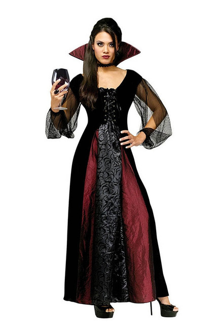 Goth Maiden Vampiress Costume
