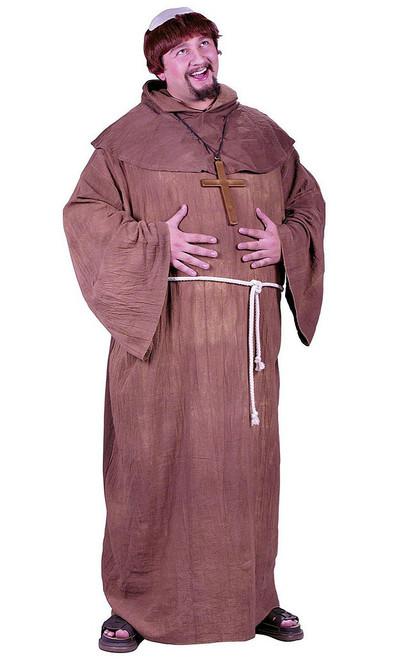 Medieval Monk Plus Costume