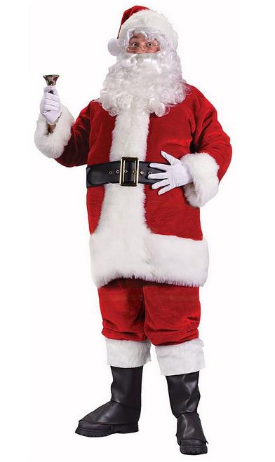 Regency Plush Red Santa Suit