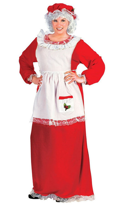 Mrs. Claus Plus Size Costume