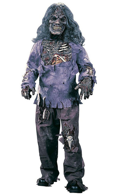 Complete Zombie Child Costume