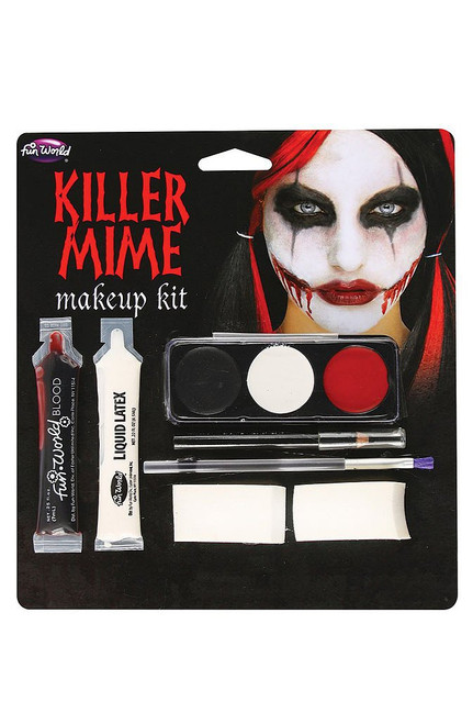 Murderous Mime Halloween Kit