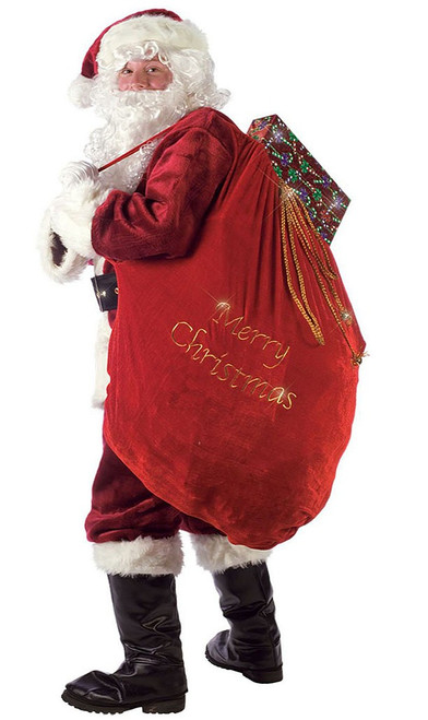 Deluxe Velvet Santa Bag