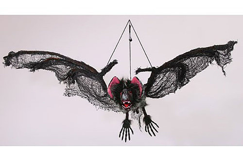 Hanging Bat Halloween Decor 40""