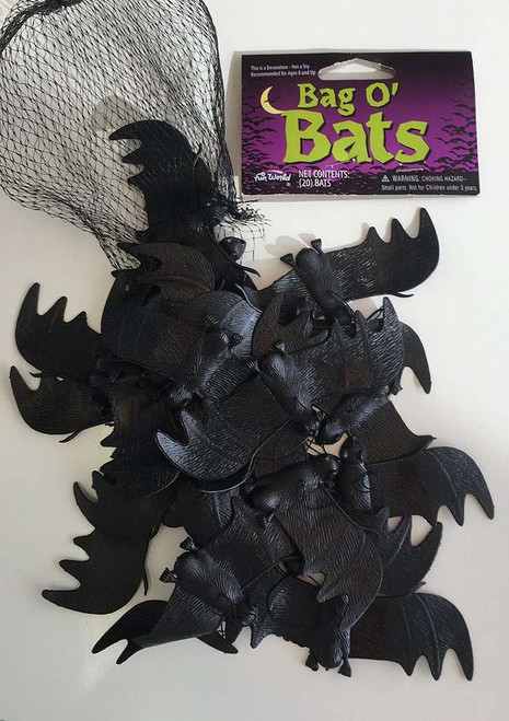 Bag Of 20 Bats Decor