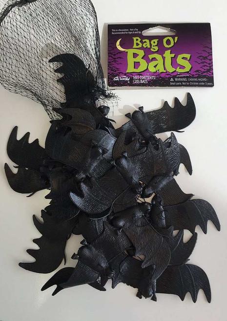 Bag Of 20 Bats Decor