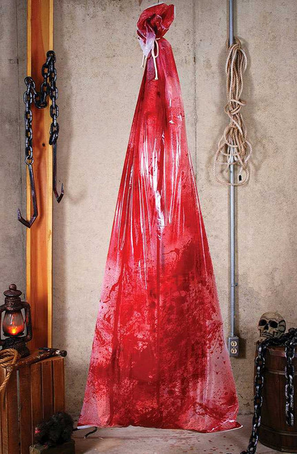 "Hanging Bloody Body in 72"" Bag"