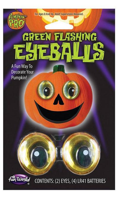 Silly Eyeball Pumpkin Decor