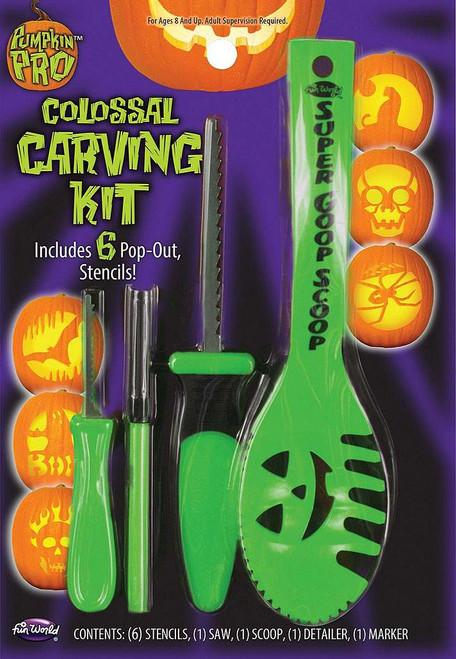 Pumpkin Carving Kit Green