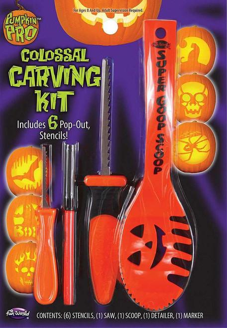 10 pc Pumpkin Carving Kit
