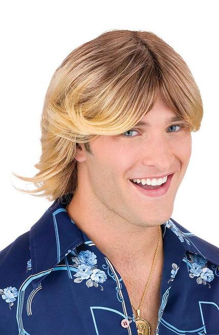Mens Blond Wig