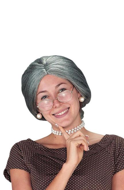 Old Granny Grey Wig