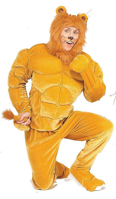 Macho Lion Muscle Costume
