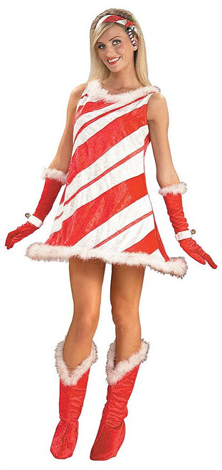 Miss Candy Cane Costume