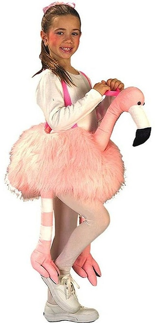 Ride a Flamingo Costume