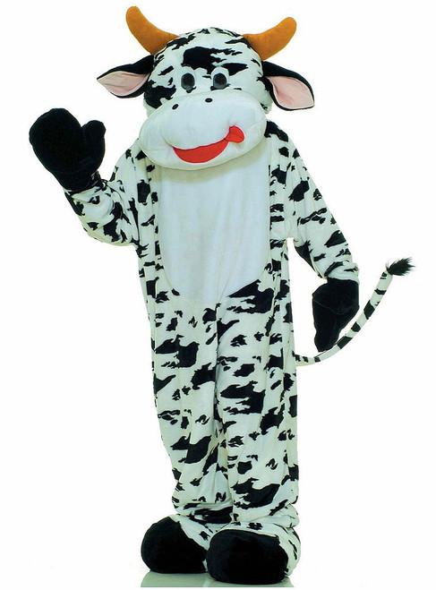 Plush Moo Cow Mascot Costume