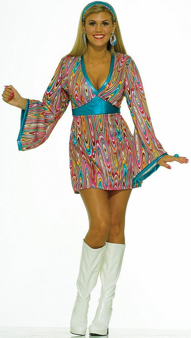Wild Swirl dress Costume