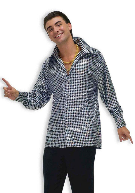 Hustling Hunk Plus Disco Shirt