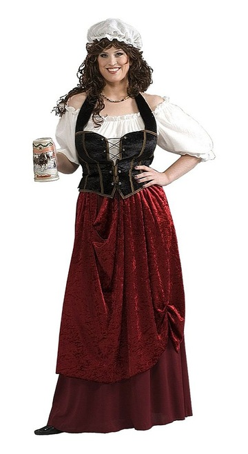 Tavern Wench Plus Costume